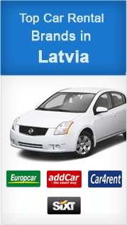 Top Car Rental Brands in Latvia